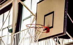バスケットボールの試合中の足関節捻挫