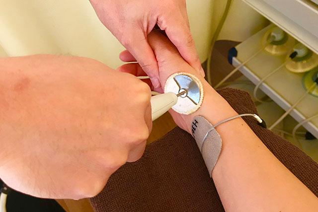 腱鞘炎の症例と治療のご紹介。