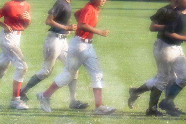 野球肩(肩障害)の症例